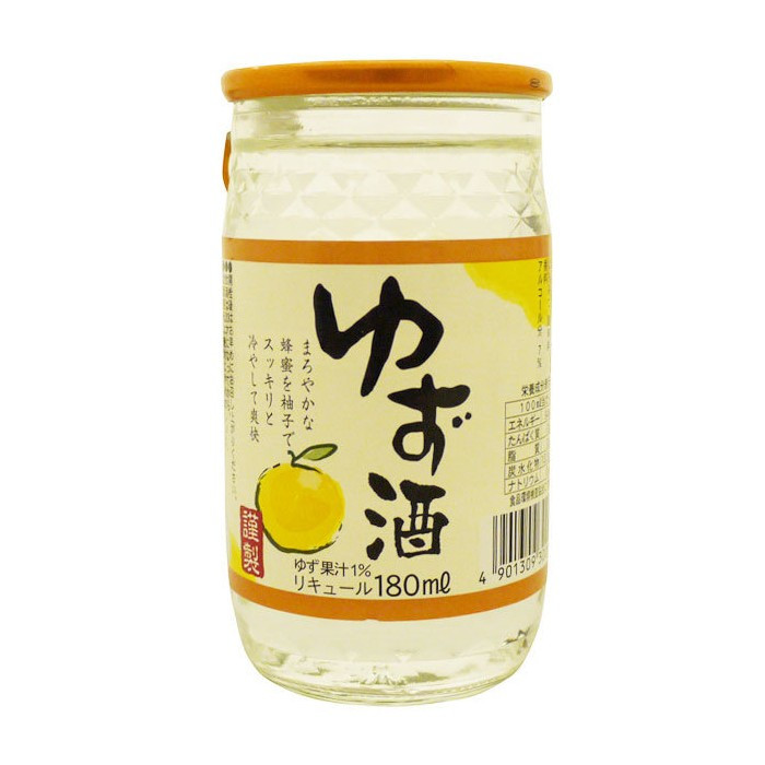Liqueur de yuzu  King Jyozo 180 ml