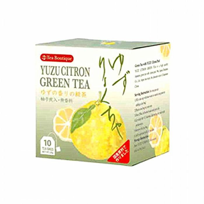 Thé vert au yuzu en sachet 10x2g