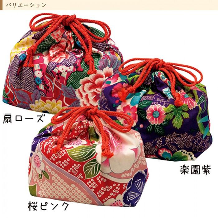 Pochette bento Hakoya fleurs