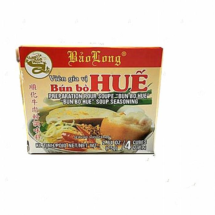 Préparation pour soupe Bun Bo Huê 4 cubes 75g