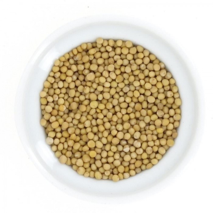 Moutarde jaune en grains 100g