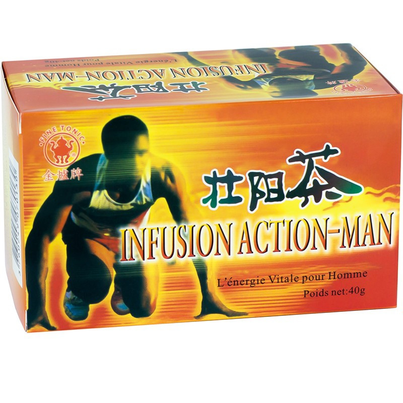 Infusion Action Man 20x2g