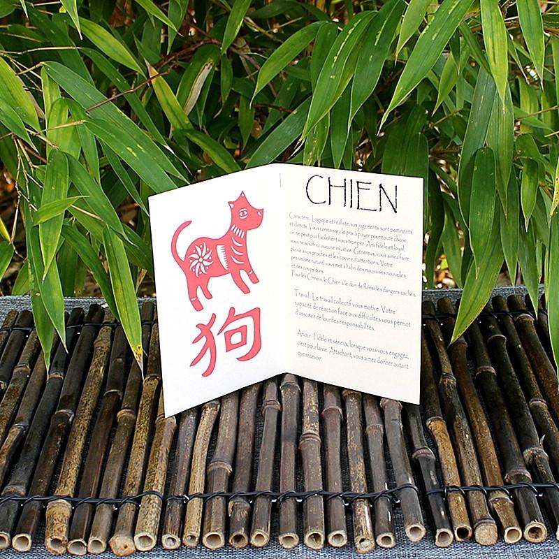 Livret signe du Zodiac du Chien