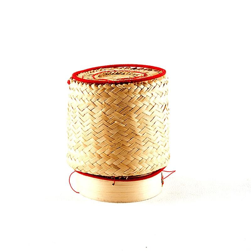 Panier en bambou pour riz gluant-8cm de diamètre
