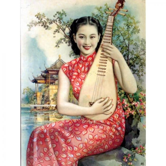 Affiche Shanghai vintage