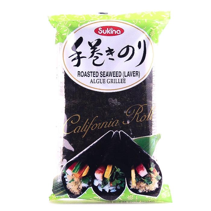Algue nori pour Temaki-sushi 25g