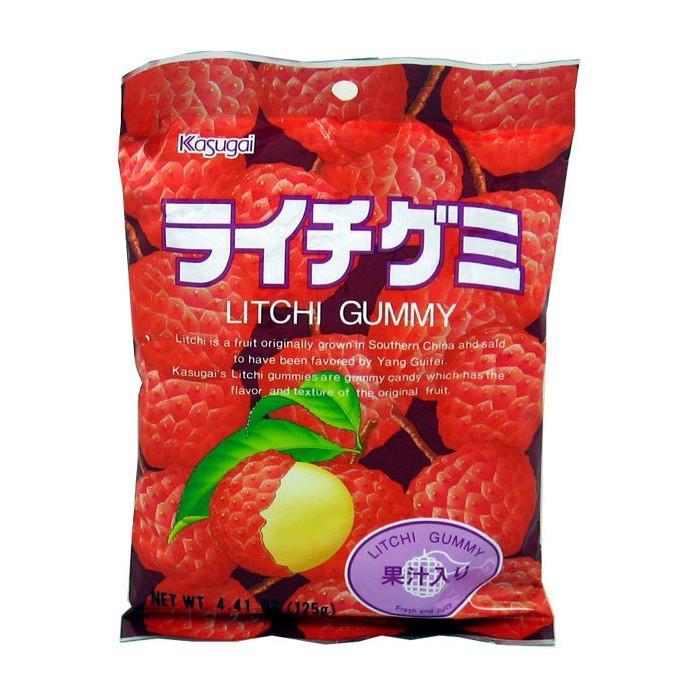 Bonbons gélifiés au litchi 100g