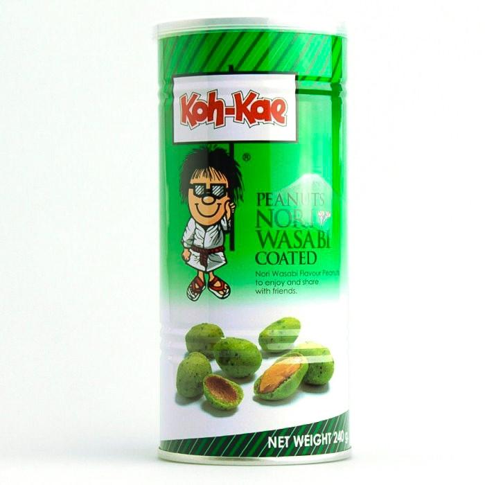 Cacahuète au wasabi 240g