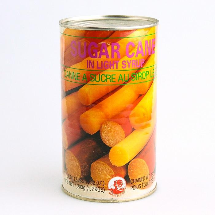 Canne à sucre au sirop léger 1200g
