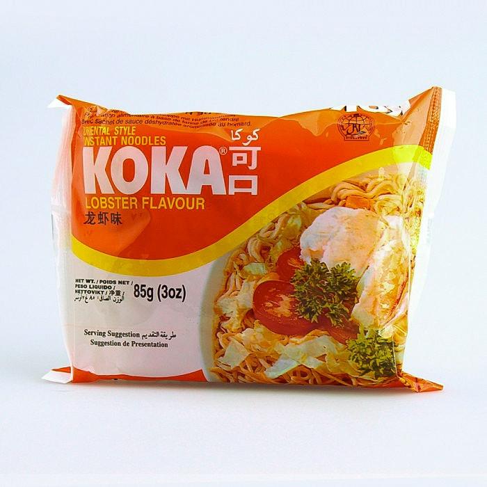 Carton de 30 Soupe de nouilles saveur homard 85g