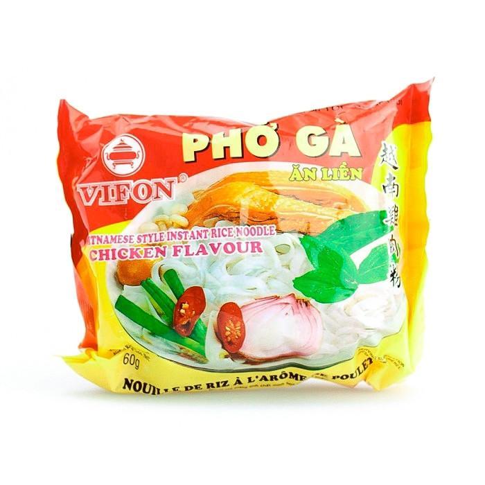 """Carton de 30 Soupe vermicelles saveur poulet """"Pho Ga"""" 60g"""