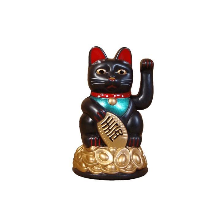 Chat noir bras amovible à pile.