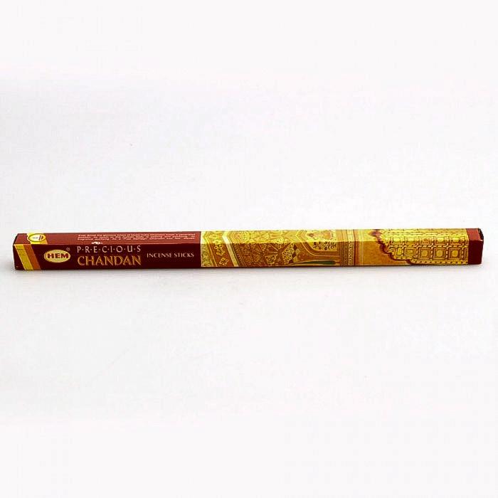 Encens Charbon de bois - Hem Precious Chandan 8 bâtons