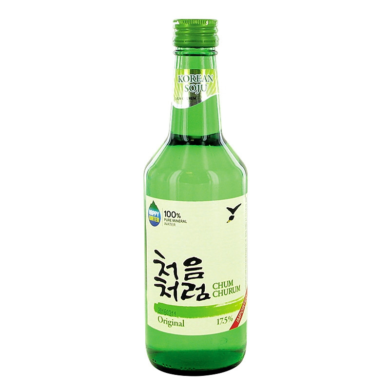 Soju Coréen 17.5%,Chum Churum,360ml