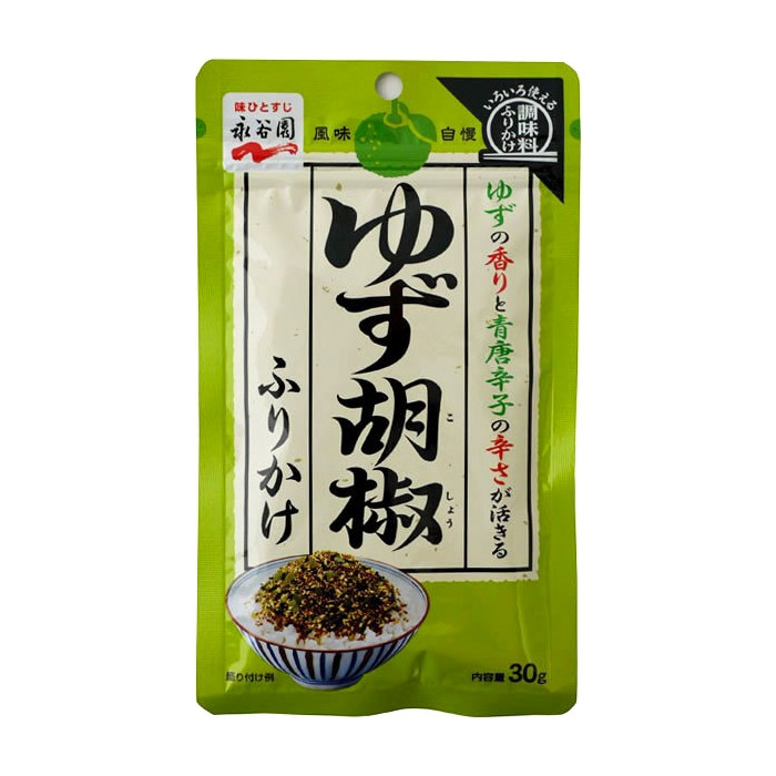 Furikake au poivre au yuzu Nagatanien 30g