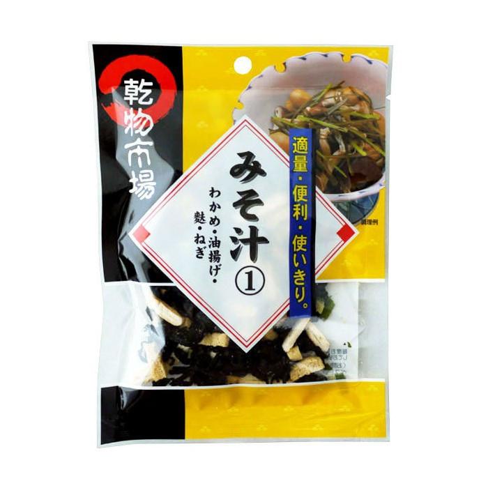 Garniture pour soupe miso avec tofu frit modèle 1 17g