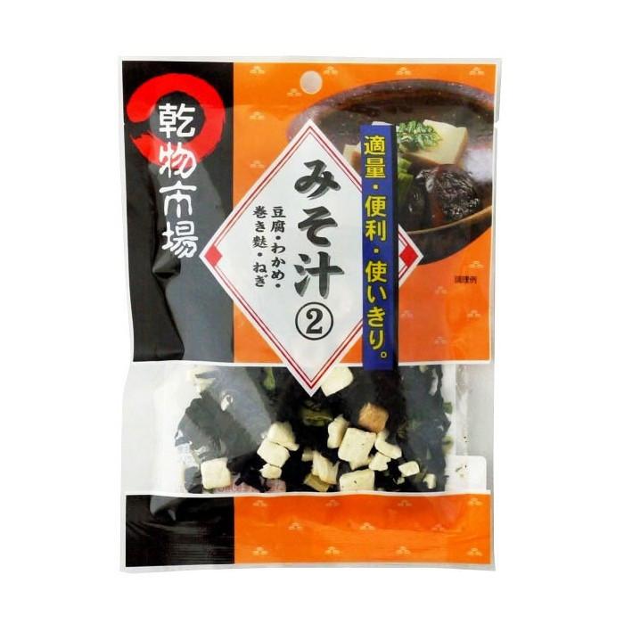 Garniture pour soupe miso modèle 2 17g
