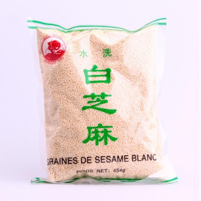 Grains de sésame blanc 454g
