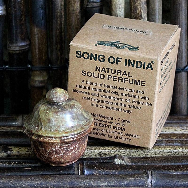 Parfum solide naturel au bois de Santal - song of India