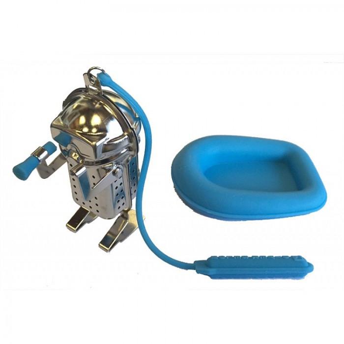 Infuseur à thé plongeur et son bateau