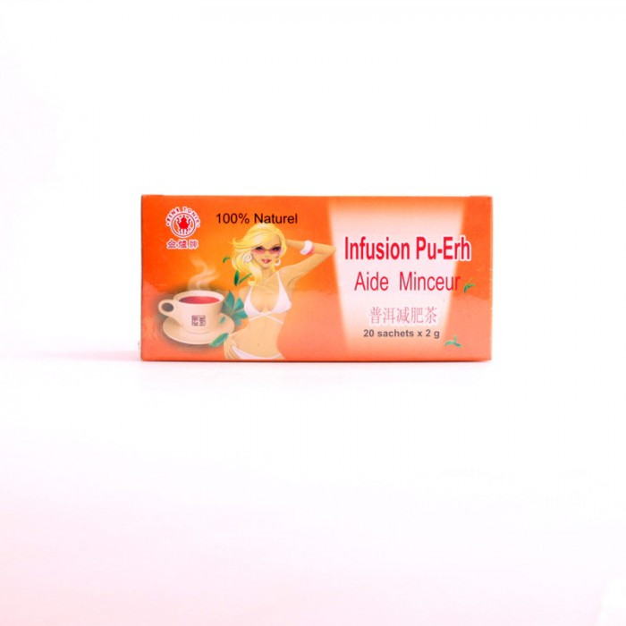 Infusion Pu-Erh Aide Minceur 20x2g
