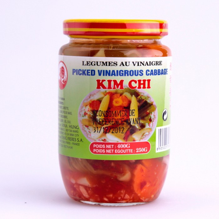 Kimchi 7 légumes 400g