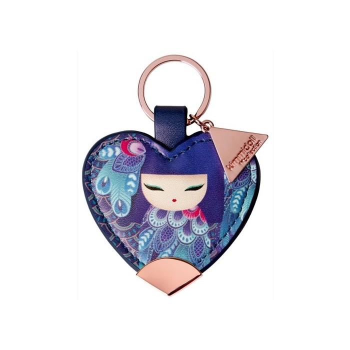 Kimmidoll Porte clé coeur FUMI-Grâce