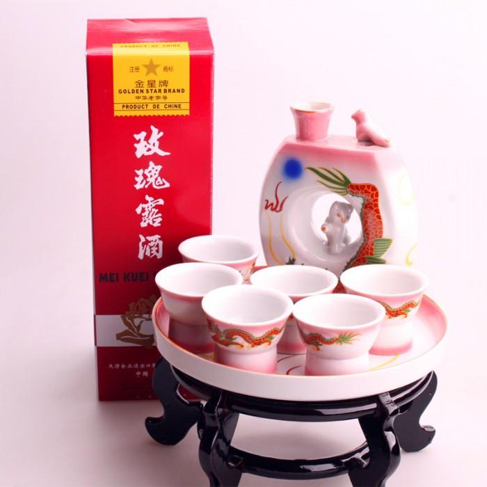 Kit service à saké avec saké chinois