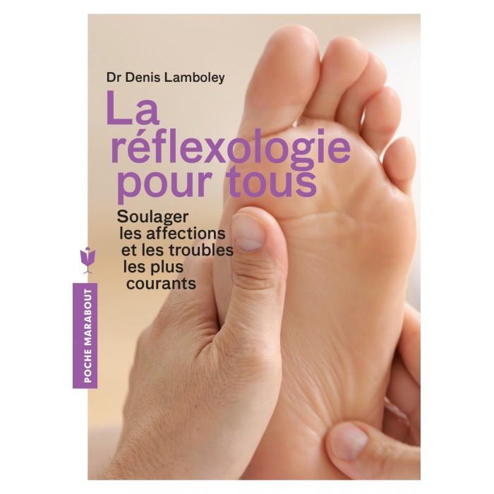 """Livre """"la réflexologies pour tous"""""""