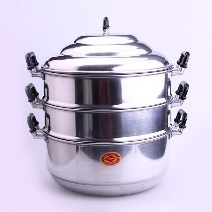 Marmite vapeur 3 compartiments