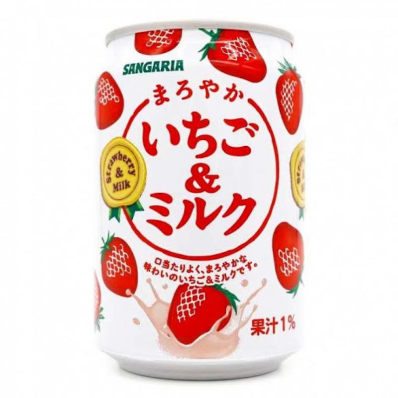 Lait Fraise japonais Sangaria - 240 ml