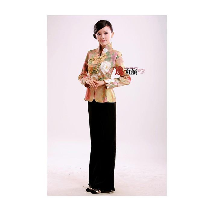 Pantalon avec boutons traditionnels chinois