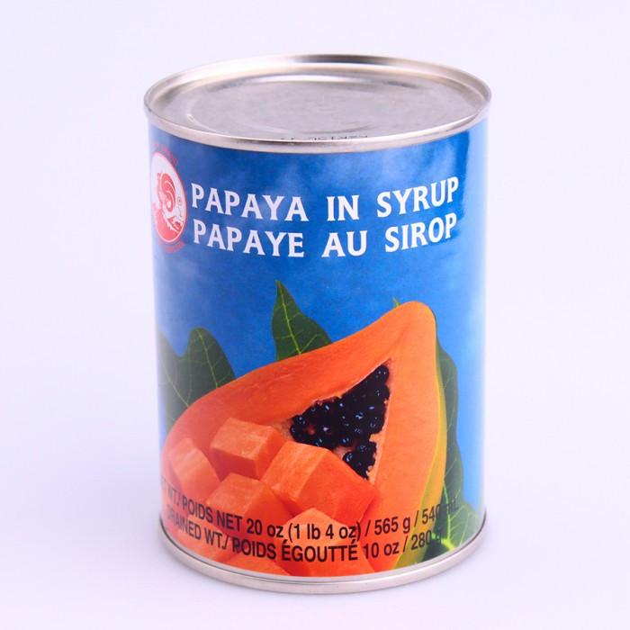 Papaye au sirop 565g