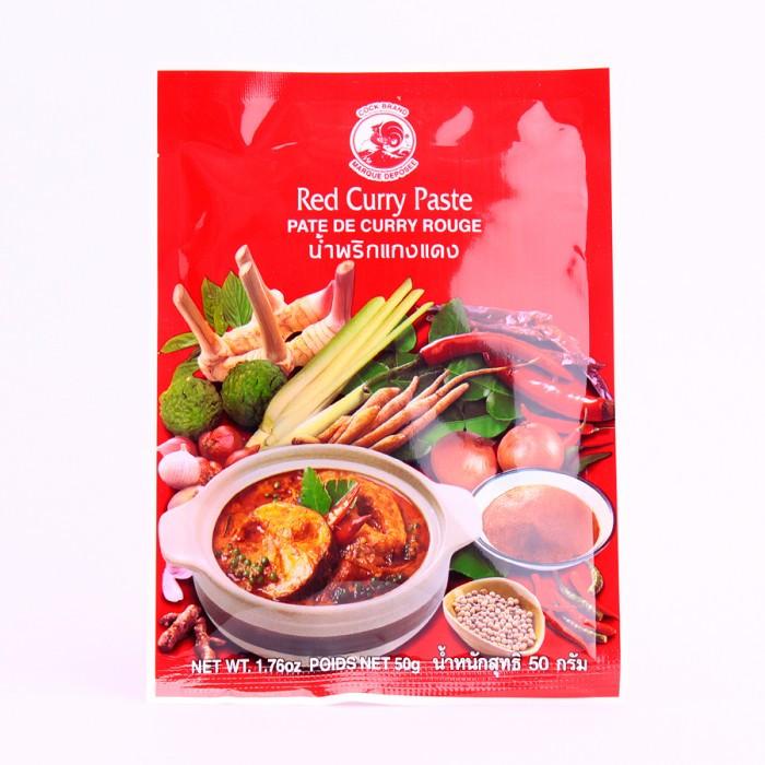 Pâte de curry rouge 50g
