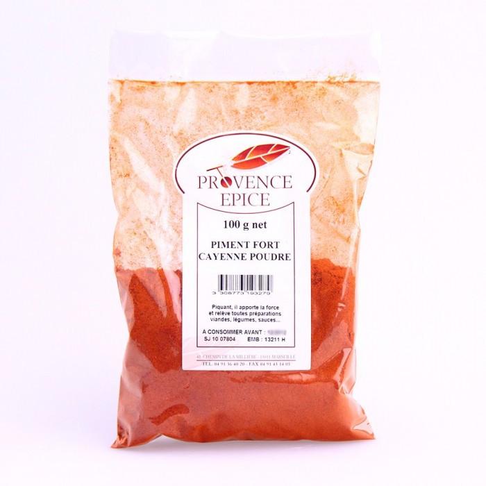 Piment fort cayenne poudre 100g