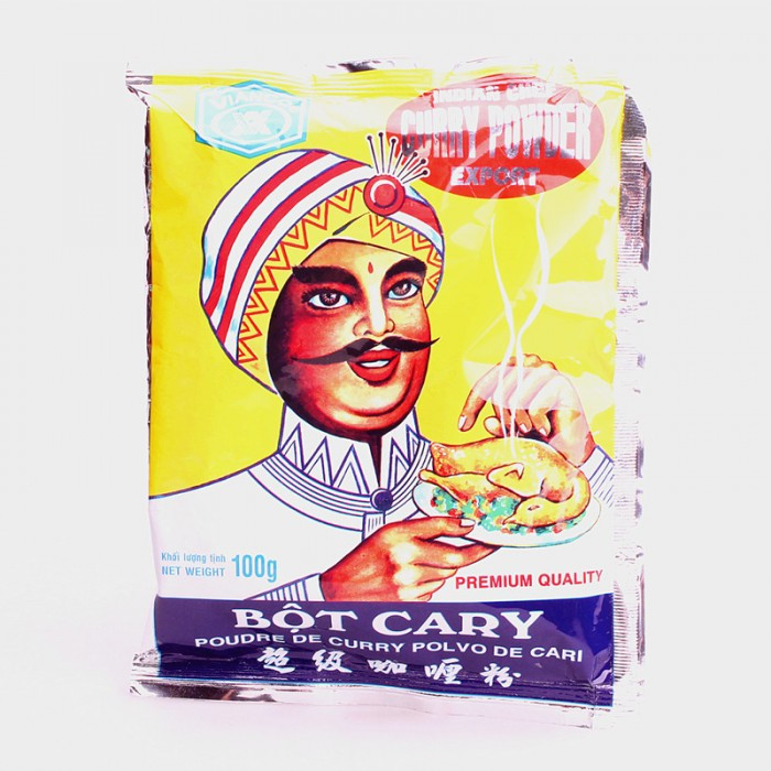 Poudre curry (Bôt Cary ) polvo de cary 100g