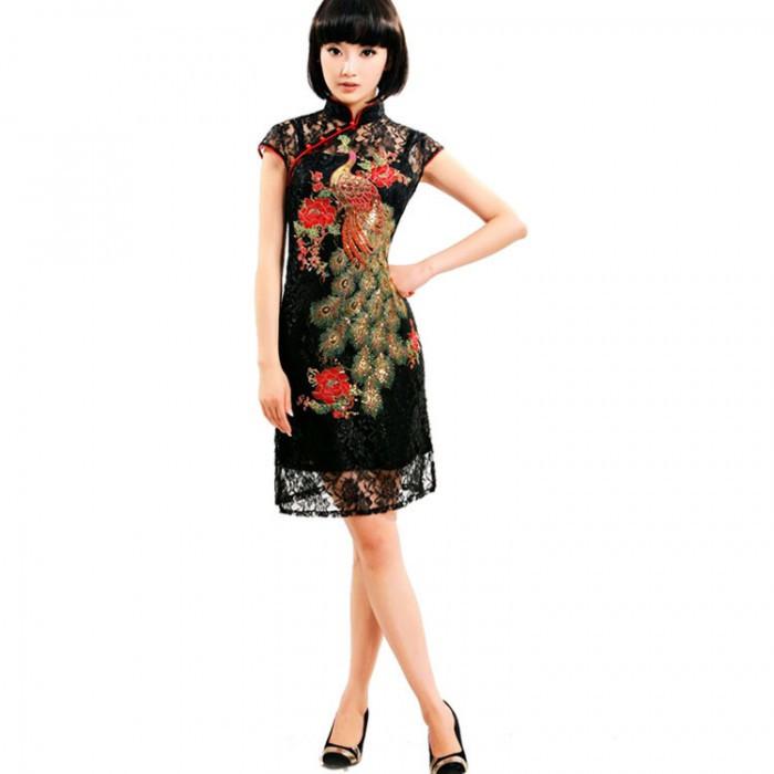 Robe chinoise (Qipao) deux en un avec...