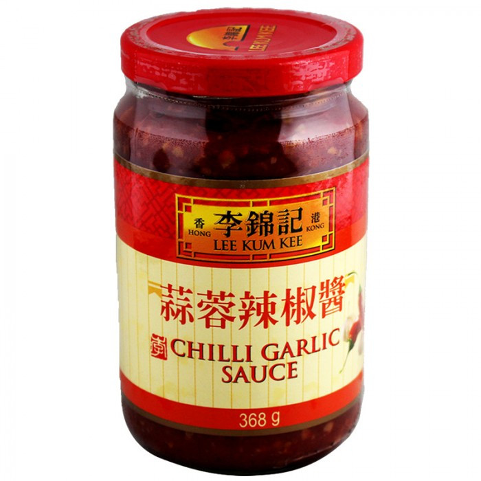 Sauce piment à l'ail 368g LEE KUM KEE