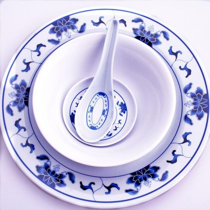 Set nénuphar bleu