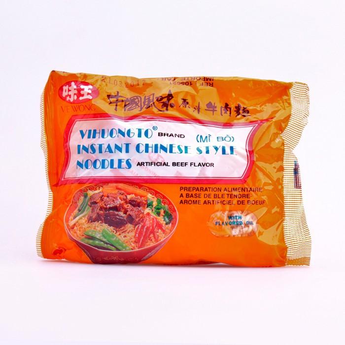 Soupe de nouilles saveur boeuf 85g