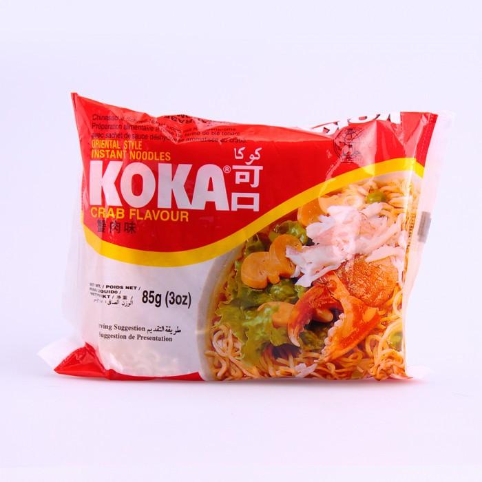 Soupe de nouilles saveur crabes 85g