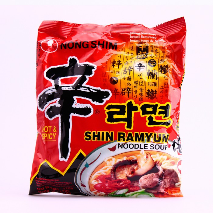 Soupe de nouilles saveur épices (Shin...