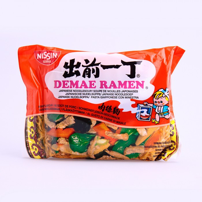 Soupe de nouilles saveur porc 100g
