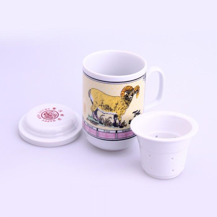 Tasse de thé signe chinois chèvre
