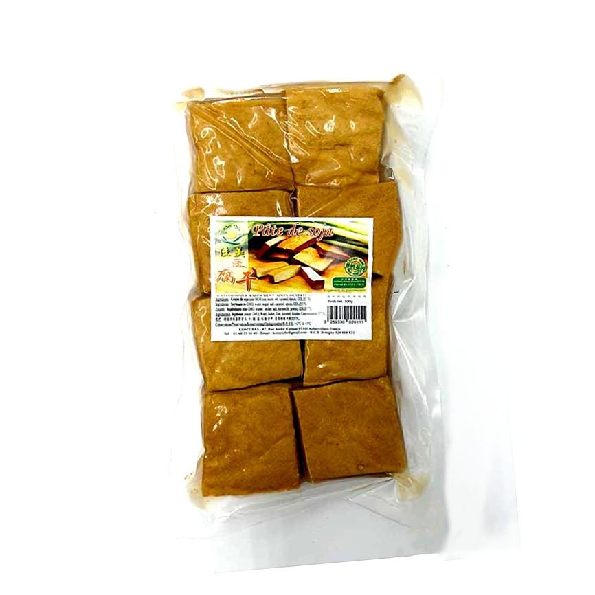 Pate de soja (Tofu fumé) au cinq parfums 500g Komy