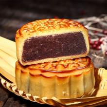 Gâteau de la Lune saveur haricot rouge ,豆沙月饼 dòu shā yuè bǐng - YB - 100g