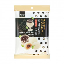 Gâteaux mochi saveur Bubble Tea au lait 120g