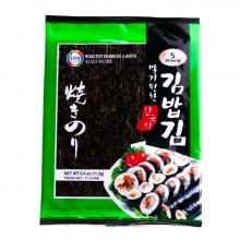 Algue nori pour sushi 5 feuilles 11.3g