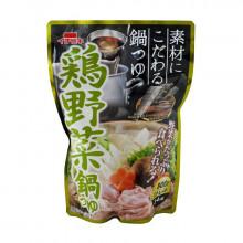 Préparation pour soupe au poulet et fondue nabé 800 g