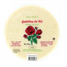 Galettes à nems 22cm Red Rose 454g